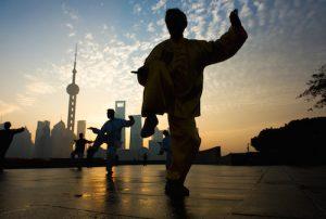 Taiji Quan en Chine